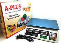 Весы торговые электронные А плюс до 50 кг