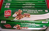 Fin Carre молочный шоколад с цельными лесными орехами 300г Германия