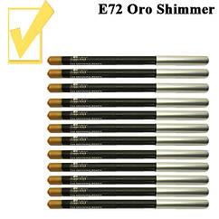 Золотистый с Шиммером Карандаш для Глаз и Губ Косметический, цвет Oro Shimmer, Косметические Adoro Е72