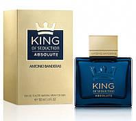 Antonio Banderas King of Seduction Absolute 100 мл реплика (мужские духи, туалетная вода) (Люкс) Мужская парфюмерия