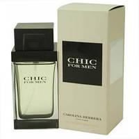 "Carolina Herrera ""Chic For Men"" edt 100 мл реплика (мужские духи, туалетная вода) (Люкс) Мужская парфюмерия"