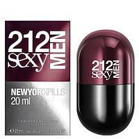 212 Sexy Men Pills Carolina Herrera edt 80 мл реплика (мужские духи, туалетная вода) Мужская парфюмерия