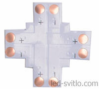 Коннектор + для светодиодной ленты SMD5050