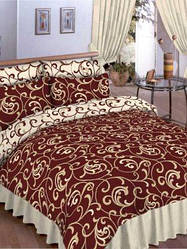 Постельное белье  Платинум 54001 коричневый