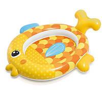 """Детский надувной бассейн """"Золотая рыбка """"INTEX (Интекс) 140х124х34см, 34 л, вес 0.9 кг, от 1 года"""