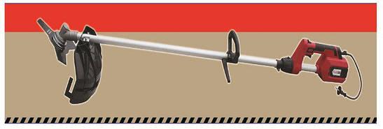 Коса электрическая Минск 3100 4 ножа 3 лески