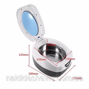 Ультразвуковая ванна - стерилизатор VGT-1000, с цифровым дисплеем + таймер 35 Вт., фото 2