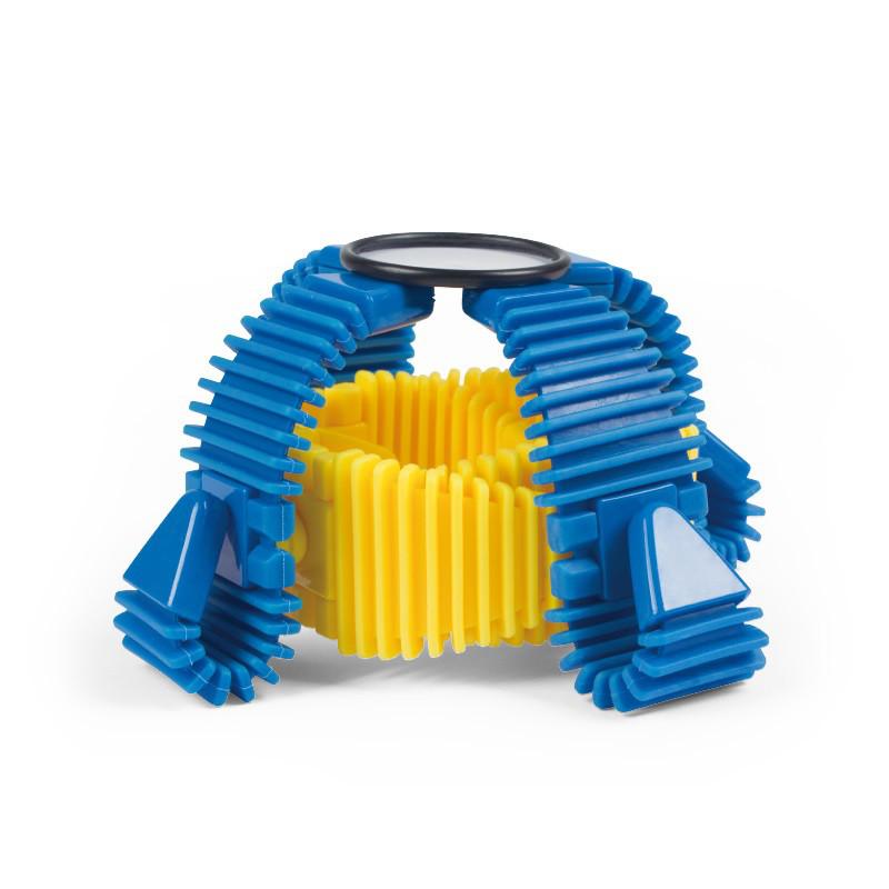 Магнитный конструктор XINBIDA E001 MAG-STRIP набор гибких магнитных блоков для конструирования 12 эл.(SUN0656)