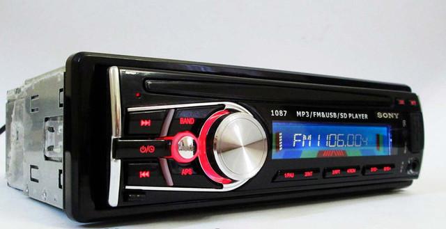 Магнитола в автомобиль Sony 1087 + многофункциональный пульт