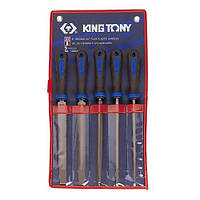 """Набор напильников King Tony 10"""" 250 мм 5 шт."""