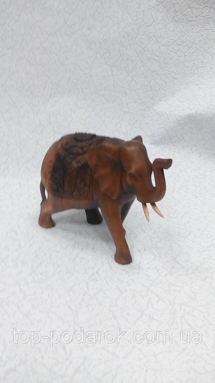 Статуэтка деревянная слон размер 23*18 см
