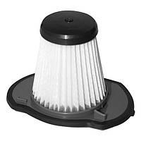 Фильтр в пластиковом конусообразном корпусе, с фильтрующим элементом из синтетического материала, для пылесоса, Новая