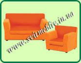 Детский диванчик №1 с креслом