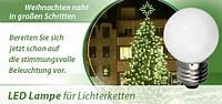 Светодиодная лампа Bioledex 12 LED Bulb 0,8Вт для праздничного освещения