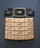 Клавіатура Samsung D780 Siver . Gold
