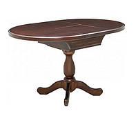 Стол «К 3»  кухонный деревянный круглый раздвижной  диаметр 940 (1290)   РПМК