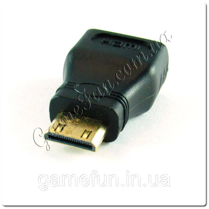 Переходник HDMI мама мини-HDMI папа
