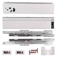 Комлект Muller Box L-350 Н-84 белый. Выдвижной ящик (тандембокс)