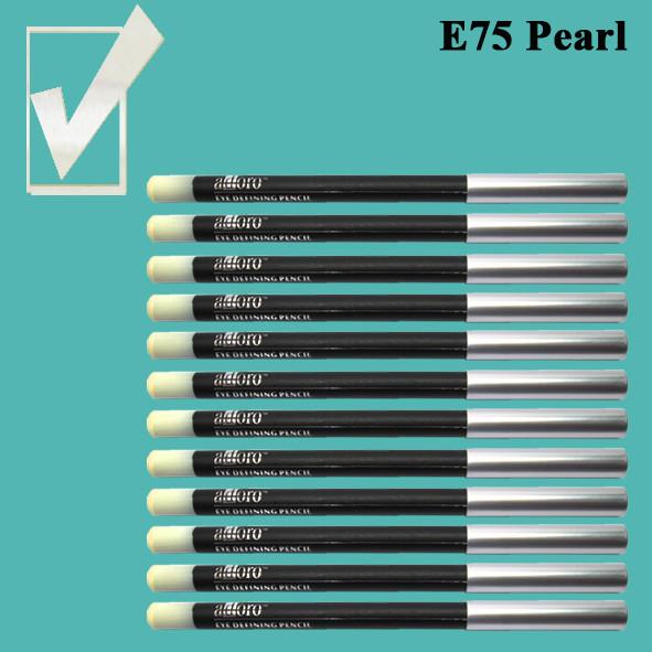 Карандаш для Глаз и Губ, цвет Pearl Жемчужно- Белый Перламутровый, Косметический Adoro Е75 Упаковкой 12 шт.