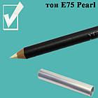 Карандаш для Глаз и Губ, цвет Pearl Жемчужно- Белый Перламутровый, Косметический Adoro Е75 Упаковкой 12 шт., фото 6