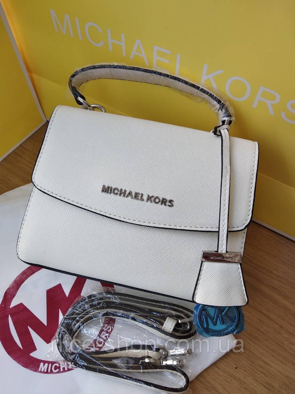 Люкс-копия Michael Kors Ava mini белая