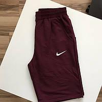 Мужские бордовые шорты Nike