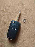 Opel корпус ключа 2 кнопки