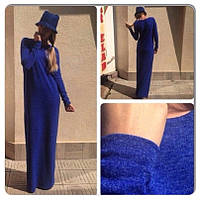 Платье в пол ангора и карманы, фото 1