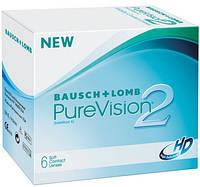 Контактні лінзи Bausch & Lomb Purevision 2 HD  6 шт