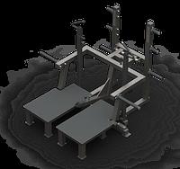 Тренажер плие Belt Squat Machine (силовой, реабилитация)