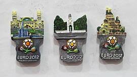 """Магниты Харьков """"EURO-2012"""". В упак: 12шт. (Ассорти)"""