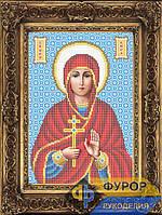 Набор для вышивки бисером - Кира Святая Преподобная, Арт. ИБ4-152-1