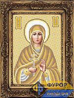 Набор для вышивки бисером - Кира Святая Преподобная, Арт. ИБ4-152-2