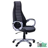 Кресло AMF Форс (СX 0678 Y10-01) Черный/вставка Серый 511133