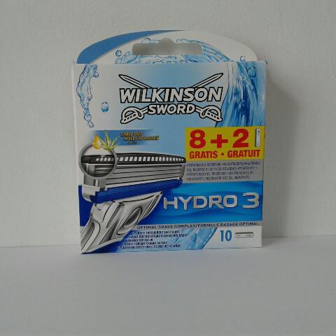 Кассеты Schick Wilkinson Sword  Hydro 3 10 шт. (Шик гидро 3)