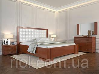 Ліжко дерев'яна полуторне Амбер