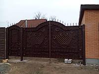 Кованые ворота №5 (распашные)