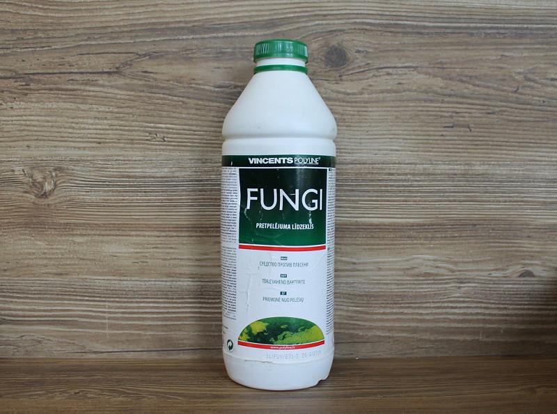 Антибактериальный фунгицидный состав, Fungi, 1 litre, Vincents Polyline