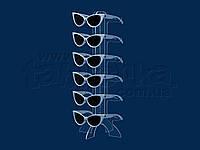 Подставка под очки Елочка, акрил 3 мм, фото 1
