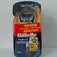 Набор для бритья мужской Gillette Fusion Proshield Станок + Fusion гель 175 мл , фото 1