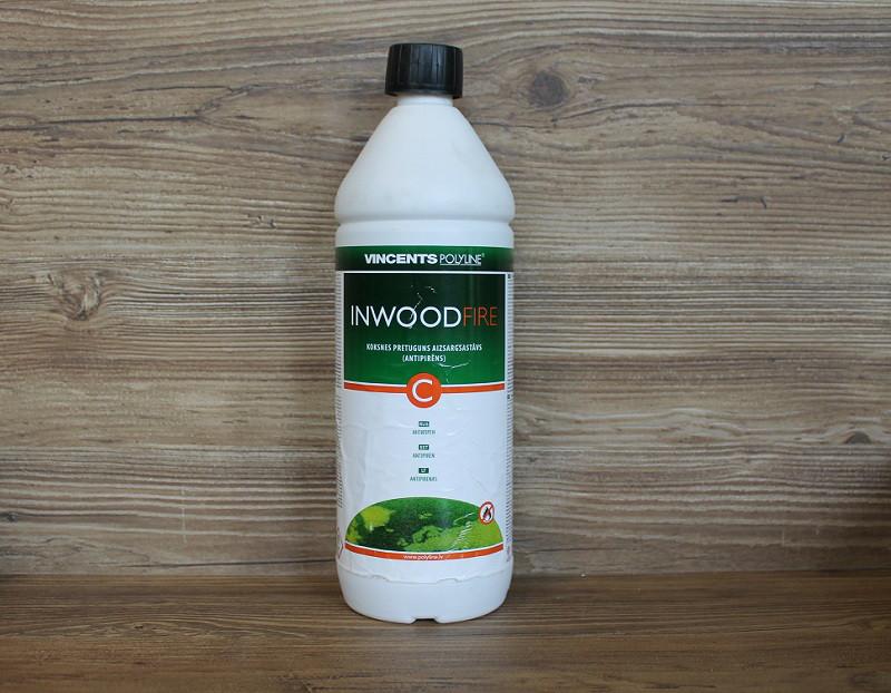 Антипиреновая пропитка, Inwood Fire C, прозрачный, 1 litre