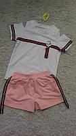 Детский комплект шорты и футболка 6-12 лет опт, фото 1