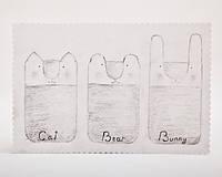 Чехол ручной работы для sony xperia кот черный ткань, фото 1