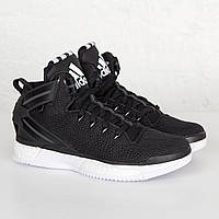 Кроссовки мужские adidas D Rose 6 Boost F37128 (черные, баскетбольные, текстильная поверхность, бренд адидас)