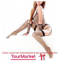 Игровой эротический леопардовый костюм