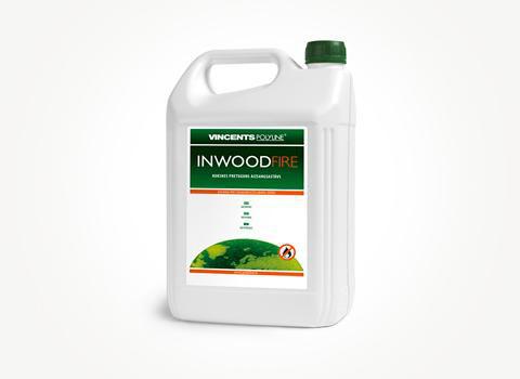 Антипиреновая пропитка, Inwood Fire C, прозрачный, 5 litre
