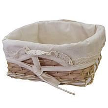 Хлебница плетеная Натурал