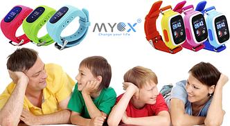 Зачем нужны детские GPS часы MYOX?