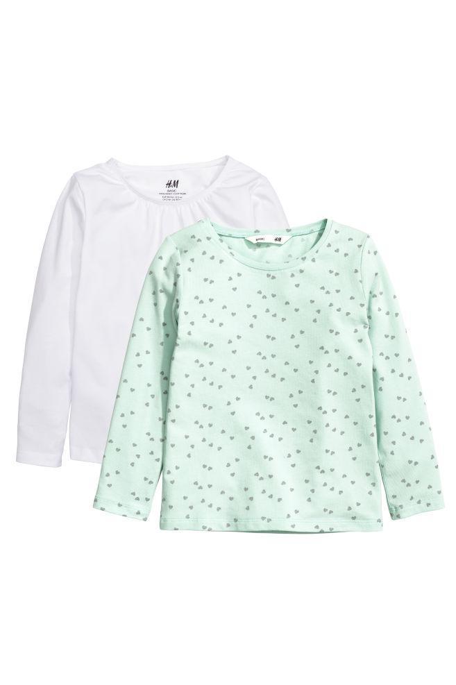 Набор из двух регланов для девочки 2-4 года H&M Швеция Размер 98-104
