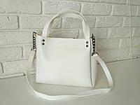 "Стильная женская повседневная сумка ""Michael Kors Аманда 2 White"", фото 1"